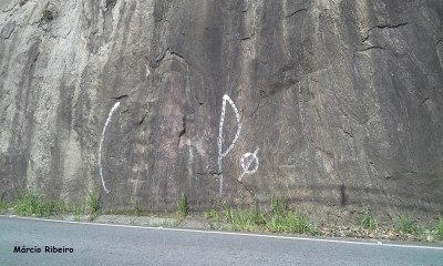 Ponto Turístico de Peruíbe permanece pichado