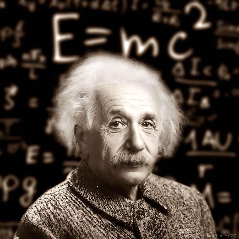 La fórmula de Einstein:   o la relación entre la materia y la energía
