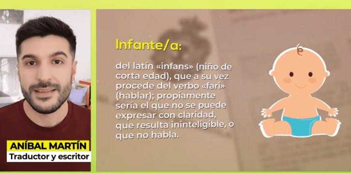 Aníbal Martín en el programa «Ya es mediodía» de Telecinco