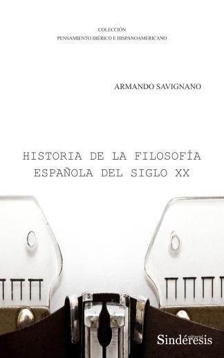 Portada historia de la filosofia espanola del siglo xx