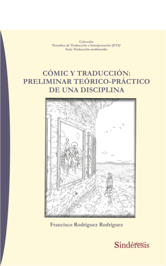 portada comic y traducción preliminar teórico práctico de una disciplina