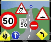 Road Sign Shapes, Colors and Their meaning