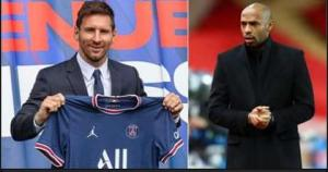 Thierry Henry Says Lionel Messi is Not Solution to PSG's Problems