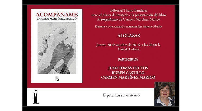 Presentación del libro Acompáñame en Alguazas