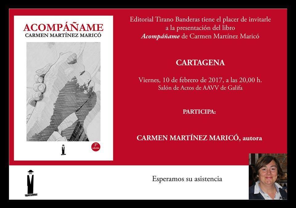 """Nueva presentación de """"Acompáñame"""" en Cartagena"""