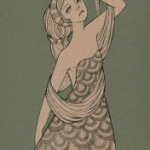 Have fun playing with unusual words in your writing. picture of an exotic lady dancing but looking melancholy