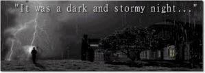 picture of a dark and stormy night