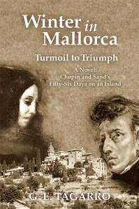 the editor becomes a published author. cover of Winter in Mallorca, Turmoil to Triumph