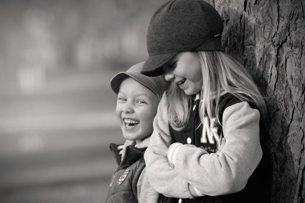 young children laughing for blog Clichés and overused metaphors