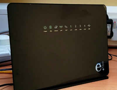 How to configure an unused Eir F2000 router as a Wi-Fi access point