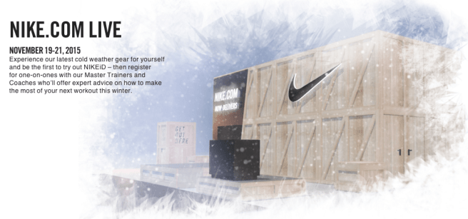 Celebrate The Launch of NIKEiD Canada with Nike com LIVE in