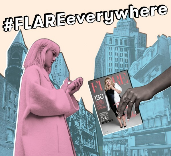 #FLAREeverywhere - March Issue FLARE rebel wilson - Gracie Carroll