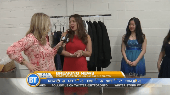 new circles prom boutique breakfast television