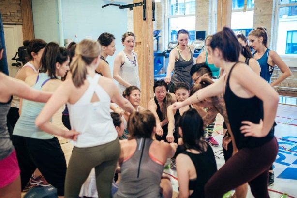 Gracie Carroll - free Adidas workout in Toronto - Julian Ho - Totum Life Science