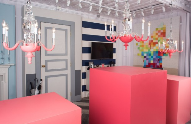 CIL Colour Centre Shipping Container Pop-Up with Yanic Simard