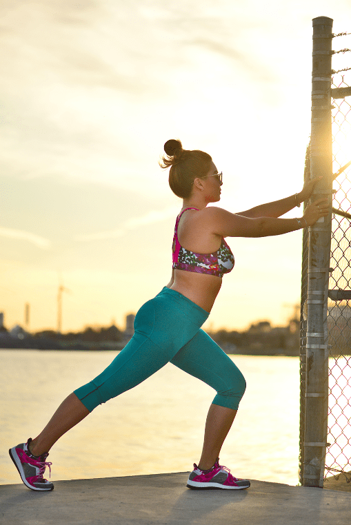 What I Wore: A Mermaid Inspired Workout Look in adidas #HereToCreate