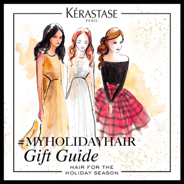 kerastase holiday gift guide giveaway