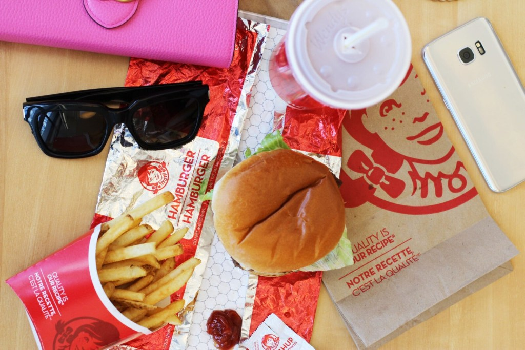 Best fast food - wendy's fresh canadian beef - gracie carroll