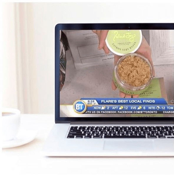 gracie carroll - breakfast television - island joy