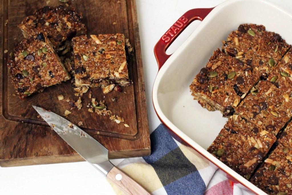 Easy healthy homemade granola bars - smitten kitchen recipe