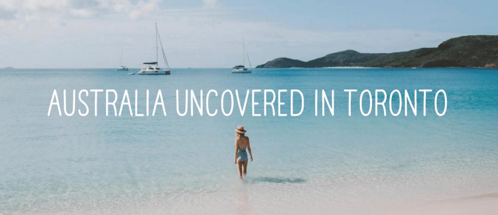 Gracie Carroll - Australia Uncovered in Toronto Event
