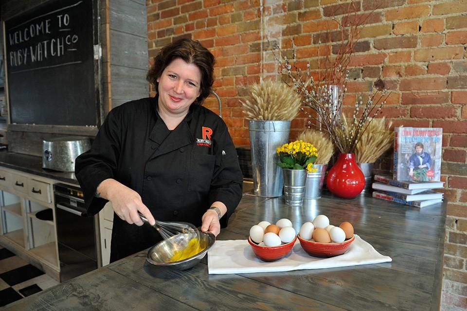 Kimchi Pancake Egg Chef Marysol Foucault