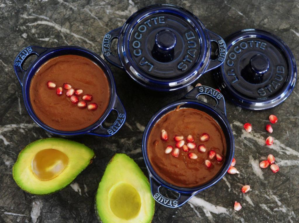 12 Amazing Avocado Recipes - Avocado Vegan Chocolate Mousse Recipe - Gracie Carroll