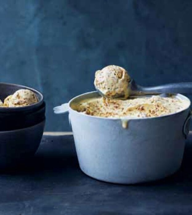 5 must-try Clodagh McKenna Recipes - Bailey's Irish Soda Bread Ice Cream