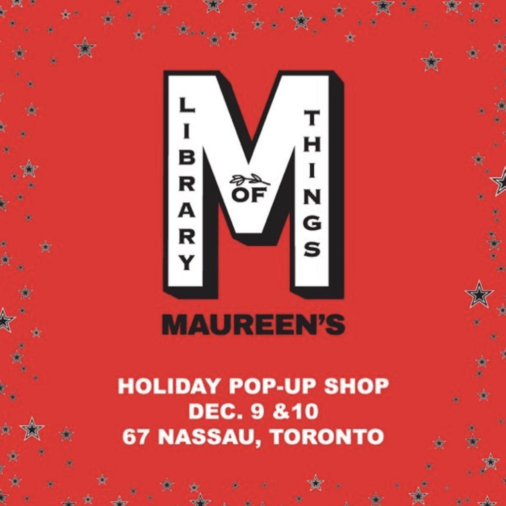 Toronto Holiday Pop Up Shops 2017