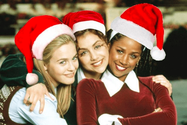 Clueless Christmas Pic