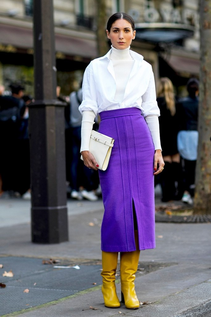 Sunday Street Style Pantone Colour Of The Year ultra violet