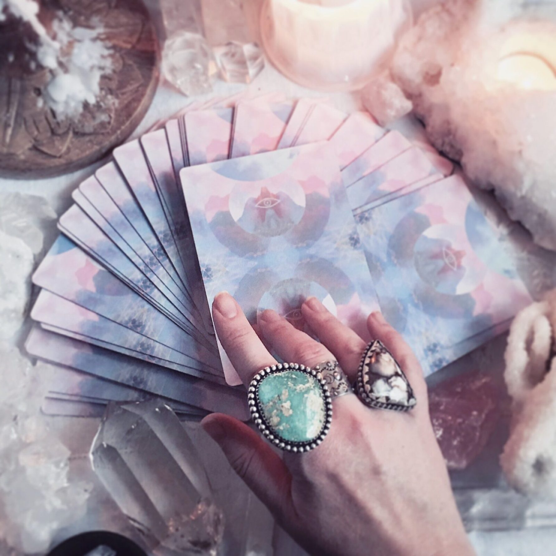 most beautiful tarot card decks - the starchild tarot deck