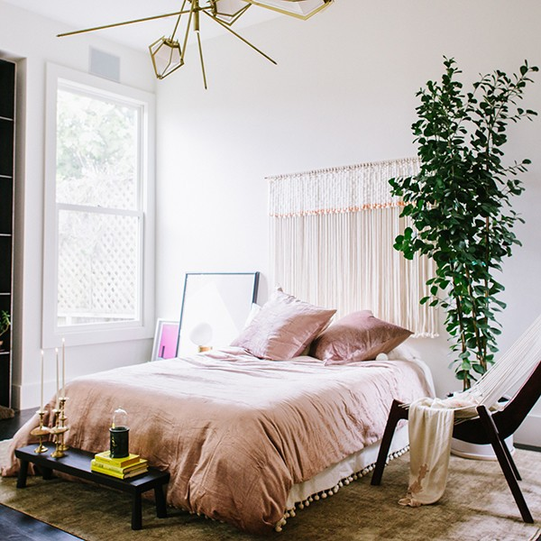 modern bedrooms - how to spring clean in a holistic way