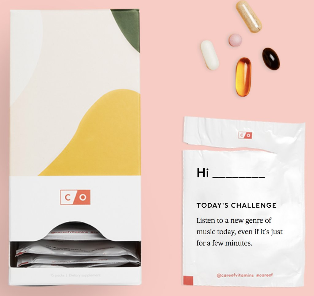 Care-of-Vitamins subscription box