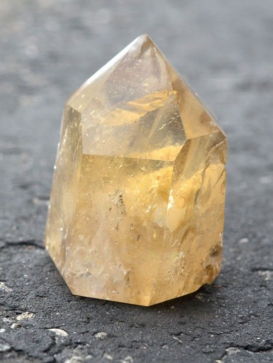 citrine crystal - edit seven