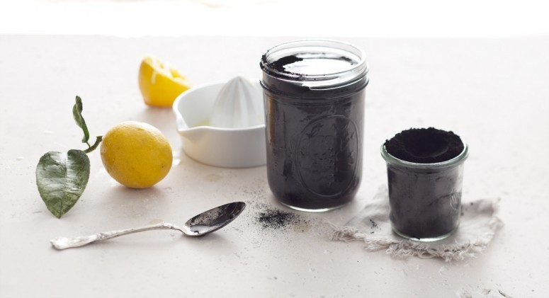 diy charcoal lemonade recipe