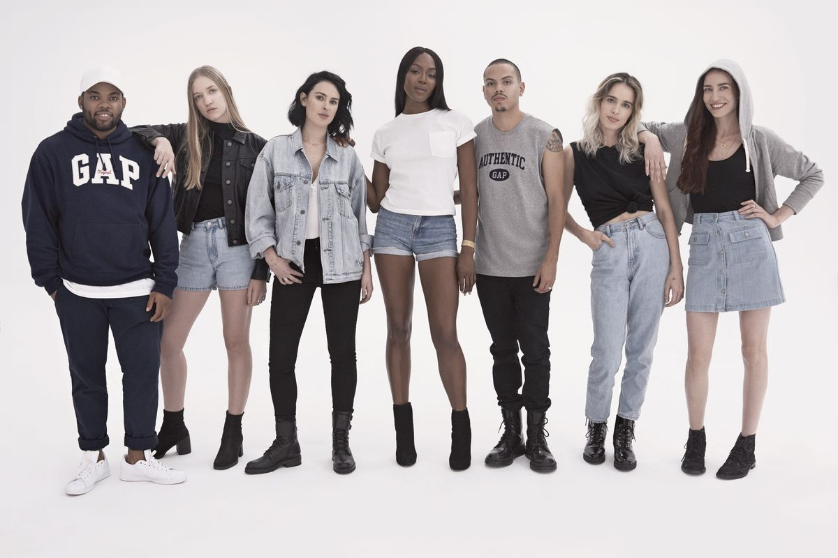 Gap Guess Throwback Collection Edit Seven