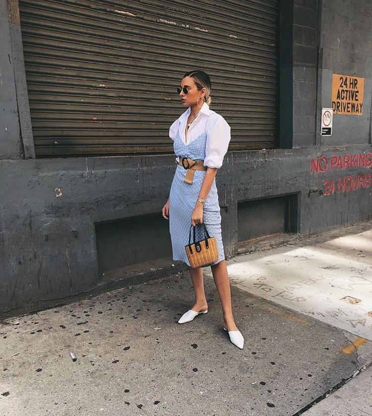 Danielle bernstein weworewhat straw bag edit seven 2018 stylebook