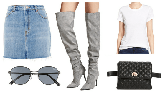 denim skirt edit seven stylebook