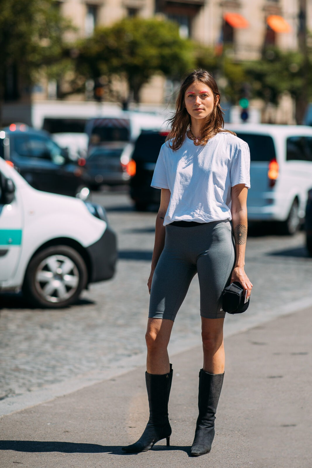 Vanille Verloes stylebook biker short trend edit seven