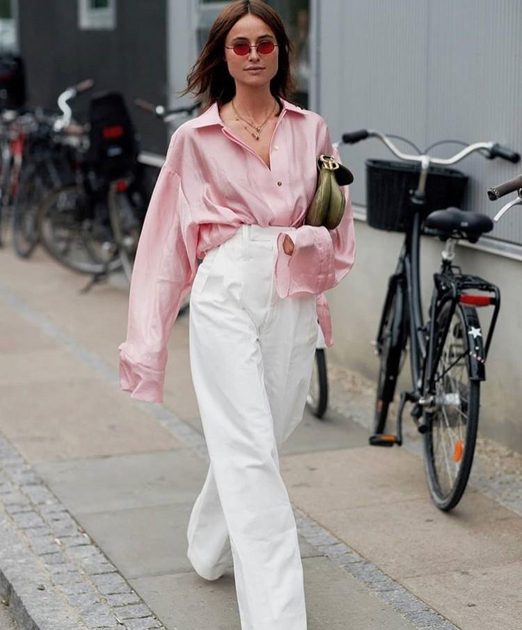 lena lademann street style white trousers edit seven toronto 2018
