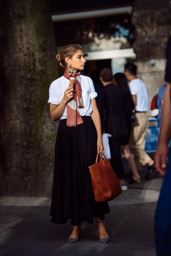 Kate Arends stylebook neckerchief neck scarf trend edit seven 2018