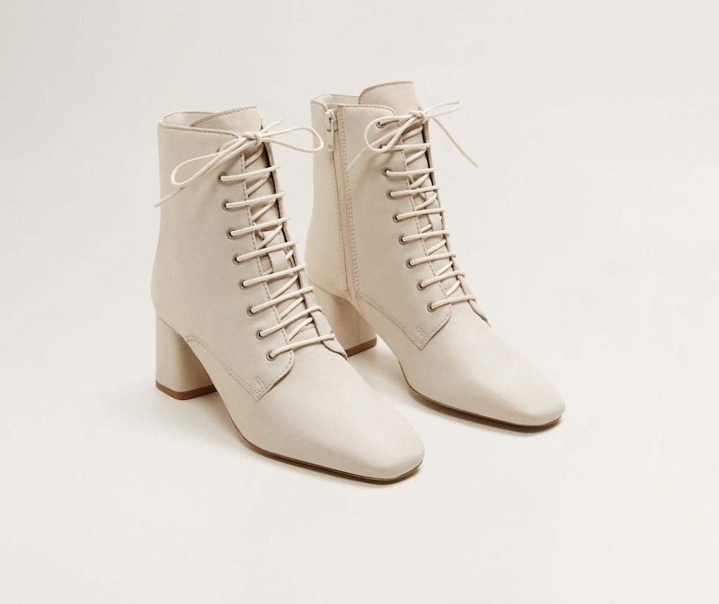mango lace up boots edit seven toronto 2018