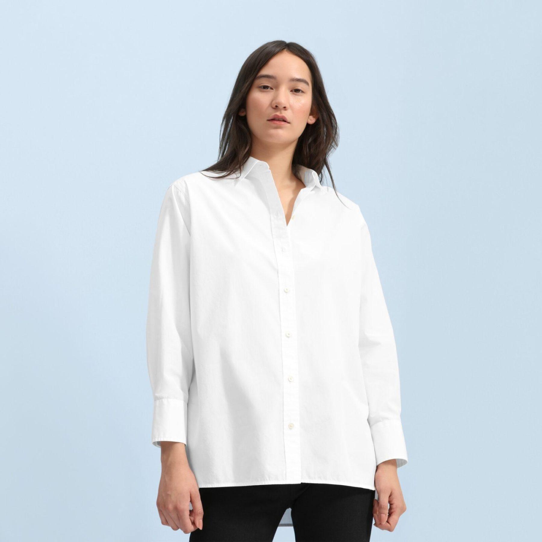 Everlane Oversized Button-up shirt edit seven 2018 toronto