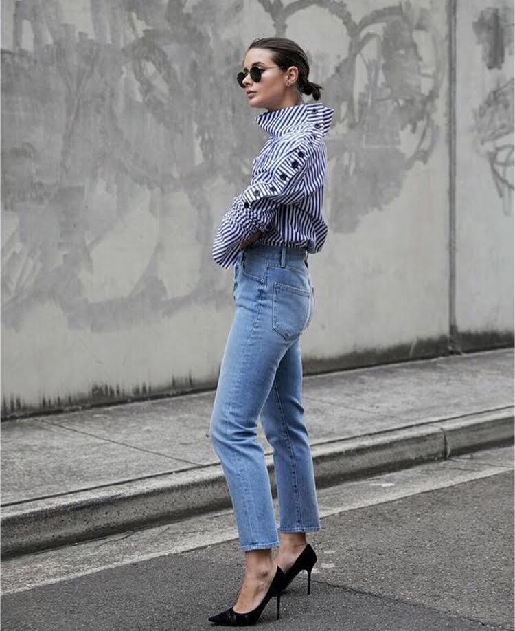 sarah crampton harperandharley blue jeans edit seven stylebook toronto 2018