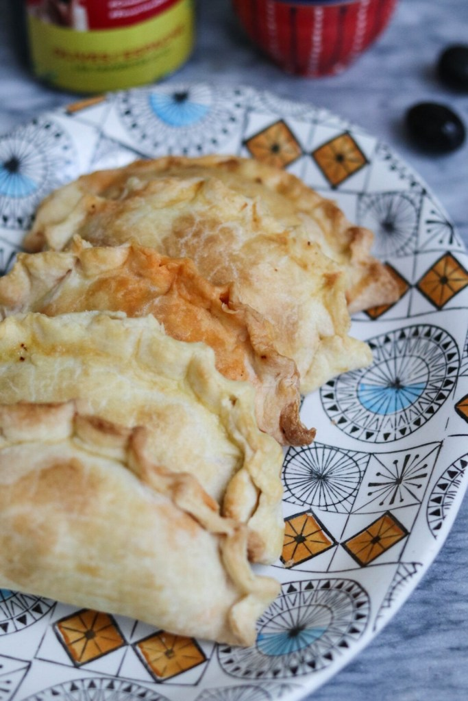 homemade empanada recipe with chorizo and olives from spain - gracie carroll - edit seven