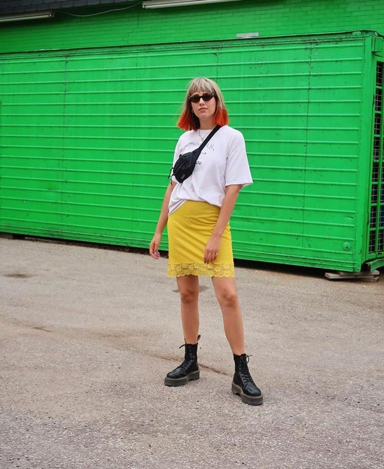 Rebecca Ramsdale yellow stylebook edit seven toronto 2018