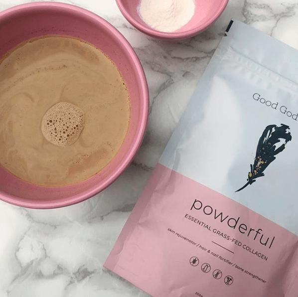 collagen bulletproof coffee recipe - edit seven - good goddess collagen