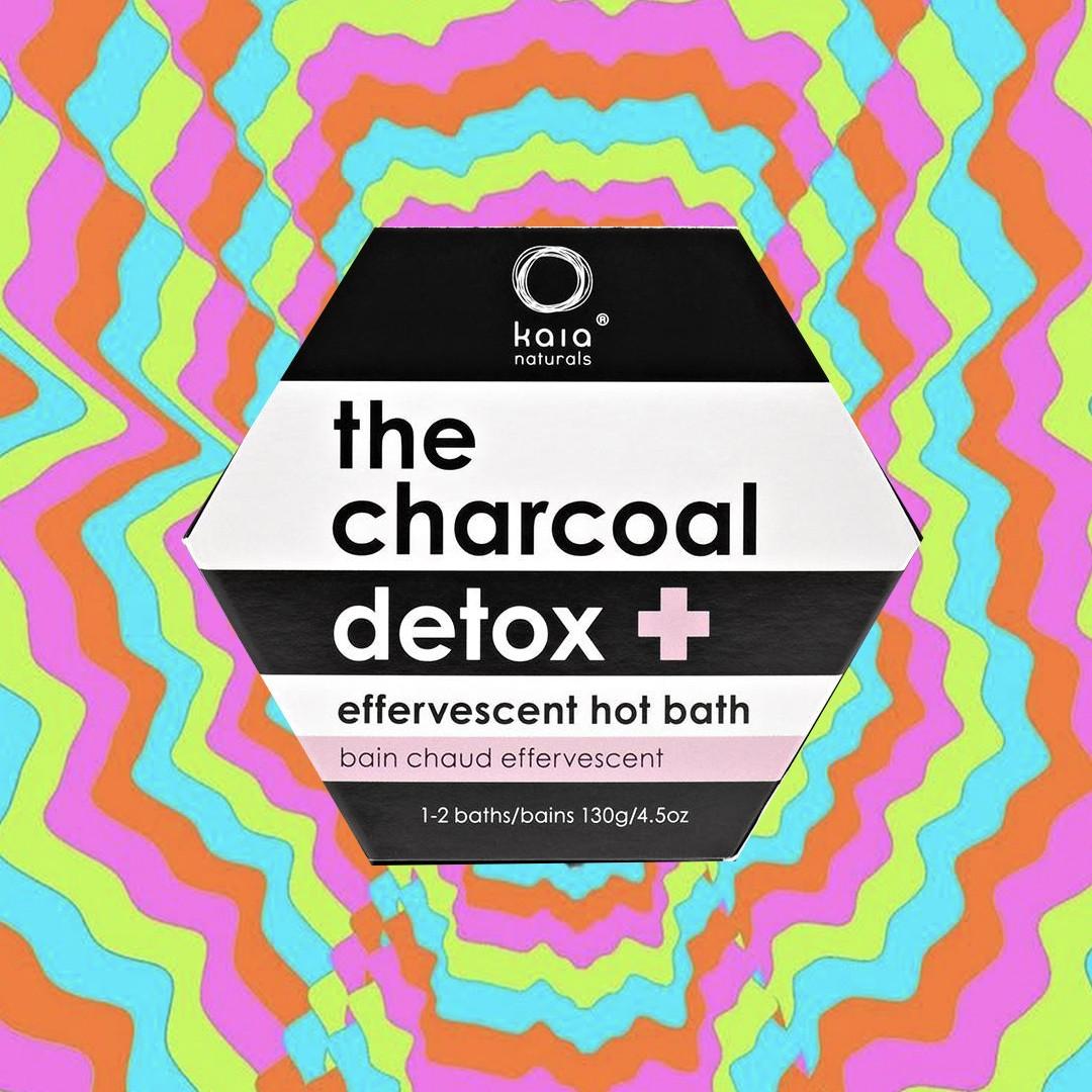 Kaia Naturals Charcoal Hot Bath