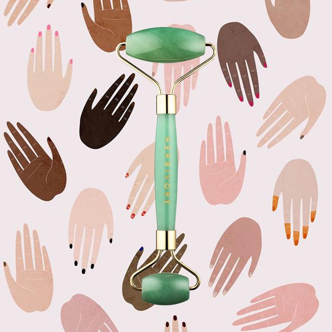 herbivore botanicals jade roller edit seven beauty products for no stress